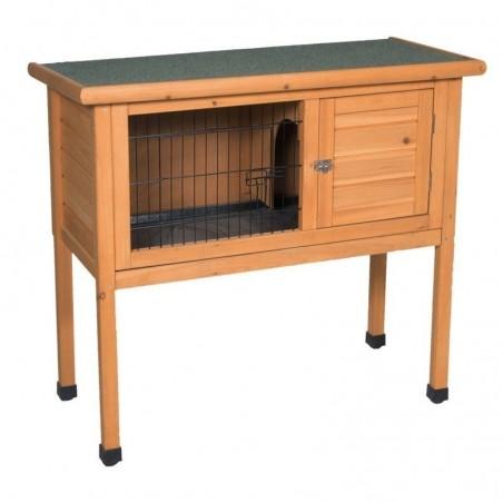 Caseta de madera para conejos nº1 92x45x70 cm