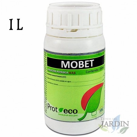 Mobet potassium soap 1 liter, fortifying and insecticide
