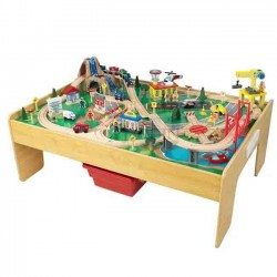 Train and table set 111x79x54 cm