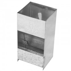 Feeder dispenser hopper food for male rabbits