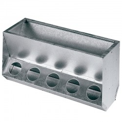 Rabbit feeder 10 holes 63x25x31 cm