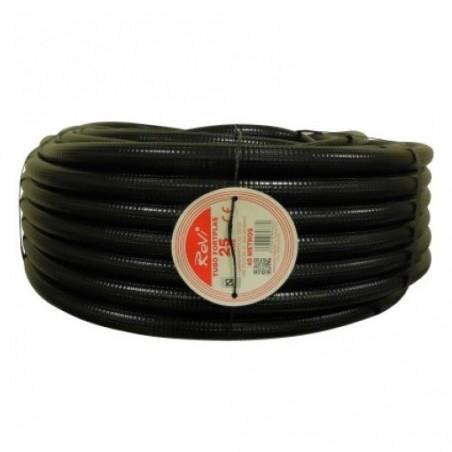 Tubería Corrugada 25mm, bobina 25 metros