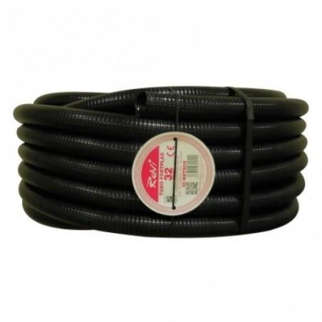 Tubería Corrugada 32mm, bobina 50 metros
