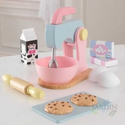 Pastry set. Pastel Color