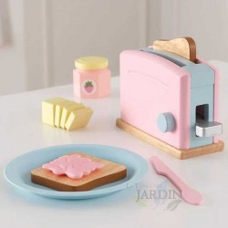 Toaster set. Pastel Color
