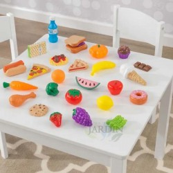 30 Piece Toy Food Set