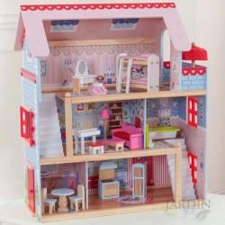 Casa de muñecas chelsea de madera