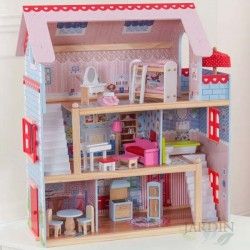 Wooden chelsea dollhouse