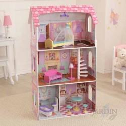 Casa de muñecas penelope de madera