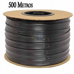 Drip irrigation tape 16mm 500 mts. Gauge wall thickness 8 mil. Drippers 1.16 l / h every 20 cm