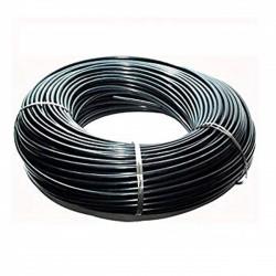 Flexible 3x4.5 mm black micro tube. 200 m coil