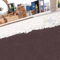 Malla Geotextil marrón 1,2 x 10 m, 100 gr/m2 polipropileno