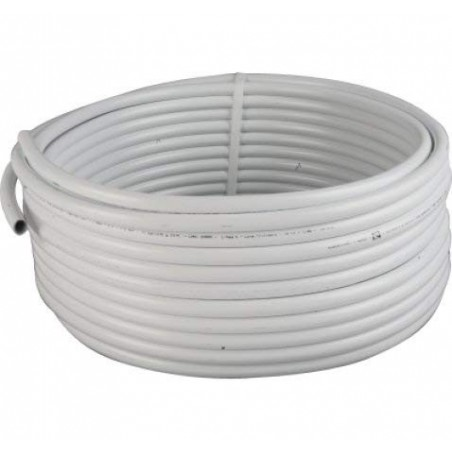 Multilayer pipe 32mm, thickness 2.5mm. Coil 25 meters