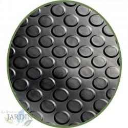 Pavimento de caucho Círculos 3mm, 1,2 x 2 m