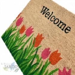Doormat 40x60 cm welcome garden