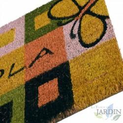 Doormat 40x60 cm hello happy