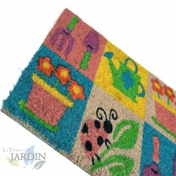 Doormat 40x60 cm colorful