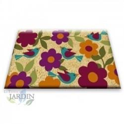 Doormat 40x60 cm autumn flowers