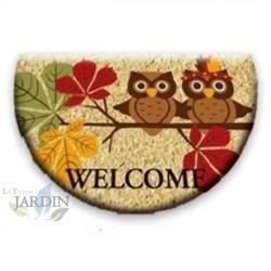 Doormat 40x60 cm welcome owls
