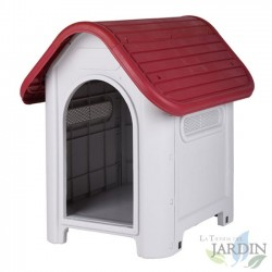 Caseta perro Suinga resina pequeña 75x60x66 cm