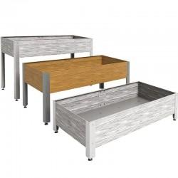 Mesa de cultivo de madera 146 x 72 x 65 cm