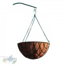 Macetero colgante de coco 40 cm