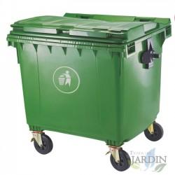 Cubo de basura industrial 1100 litros