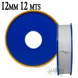 Cinta de teflón profesional 12mm 12 metros
