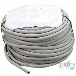 White flexible tubing 8 x 14mm. Coil 25 meters