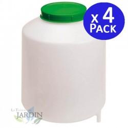 Depósito con filtro 8 litros. 4 unidades