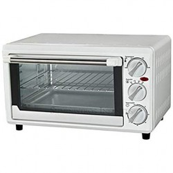 Electric oven 14 liters white 1200W 100º-230ºC, 40x31x24 cm
