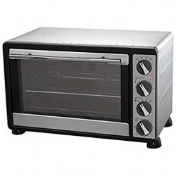Electric oven 30 Liters 1500W stainless steel 100º-230ºC, 51x34x33 cm