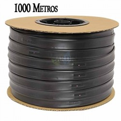 Drip irrigation tape 16mm 1000 mts. Gauge wall thickness 8 mil. Drippers 1.16 l / h every 20 cm