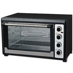 Electric oven 60 Liters 2000W Convection and rustipollo 100º-230ºC, 65x40x44 cm
