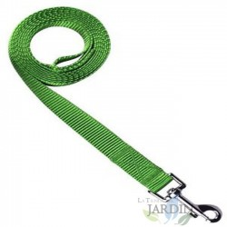 Correa nylon perros 150cm verde
