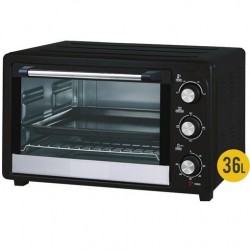 Electric oven 36 Liters 1500W 90º-230ºC, 51x39x32 cm