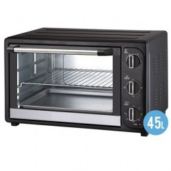 Electric oven 45 Liters 2000W 90º-230ºC, 56x41x36 cm
