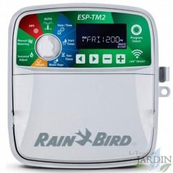 Programador riego Rain Bird ESP-TM2 4 zonas exterior