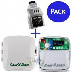 Programador riego Wifi Rain Bird ESP-TM2 8 zonas exterior + LNK