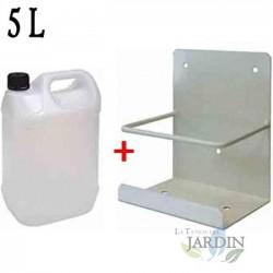 Bidón 5 litros condensador con soporte