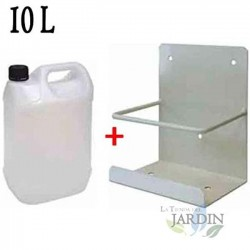 10 liter condenser drum with support, ideal for air conditioning