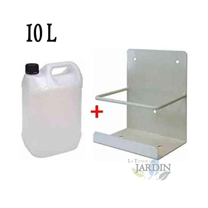 Bidón 10 litros condensador con soporte, ideal para aire acondicionado