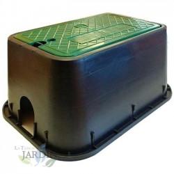 Arqueta de riego rectangular estandar 49x35x22 cm