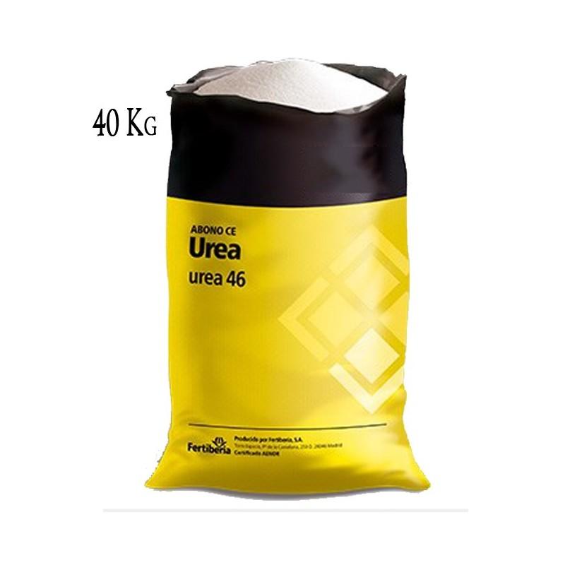 Fertilizante Nitrogenado UREA 46%, saco 40 Kg