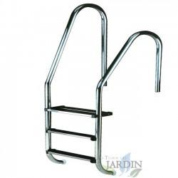 Escalera para piscina 1 peldaño + 1 peldaño seguridad
