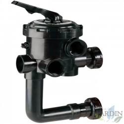 "Bayonet selector valve for swimming pools, thread 1 1/2 """