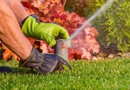 How to install an irrigation diffuser or sprinkler?